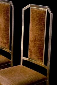 chaises art deco 1950 annees 50 chaises en metal With objets deco annees 50