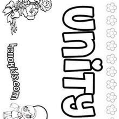 unity coloring pages hellokidscom