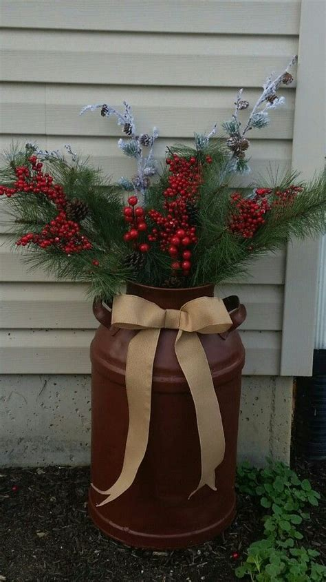 christmas milk can ideas pinterest 37 best milk can decor images on milk cans crafts and decor