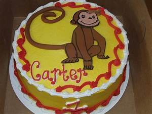 61 best buscochos y giovanes frosteados images on With curious george cake template