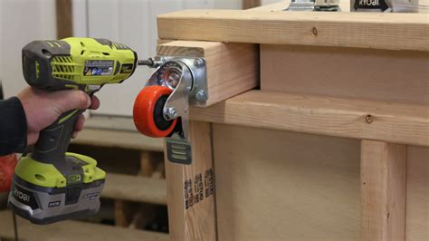 diy rolling workbench   workbench plans