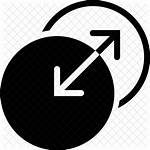 Transition Icon Both Directions Filled Way Trust
