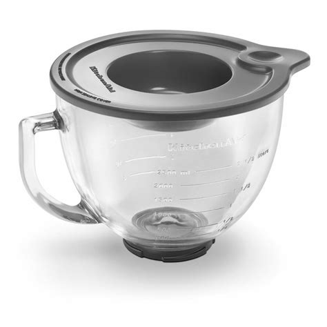 Kitchenaid Mixer Glass Bowl by New Kitchenaid 5 Quart Glass Bowl With Lid K5gb Fitstilt