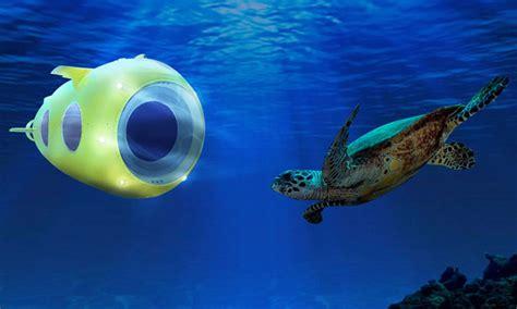 explore  depth   ocean  yellow submarine tuvie
