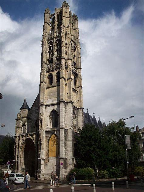 clocher de leglise st laurent gothique flamboyant