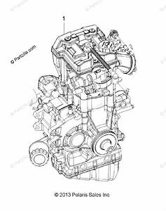 Polaris Atv 2017 Oem Parts Diagram For Engine Long Block