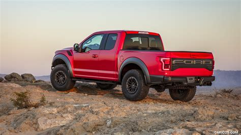 Red Ford Raptor Wallpaper HD