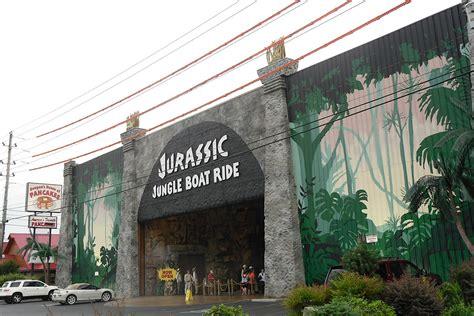 Jurassic World Jungle Boat Ride by Thrillride