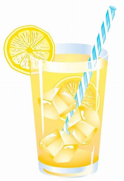 Clipart Drink Summer Lemon Vector Drinks Lemonade
