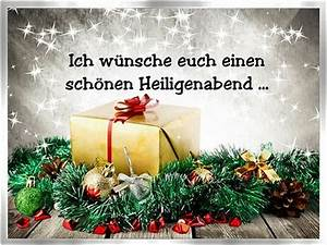 Schöne Weihnachten Grüße : heiligabend weihnachtsgrussbilder ~ Haus.voiturepedia.club Haus und Dekorationen