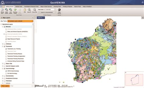 geological survey and mines bureau map of mines in australia you can see a map of