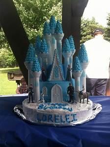 Frozen Castle Cake Using Wilton Castle Cake Kit | Lorelei ...