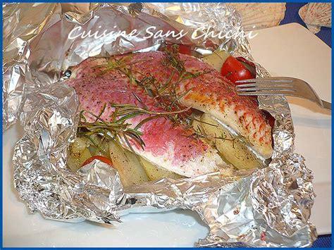 romarin en cuisine filets de rougets au romarin en papillote une recette du
