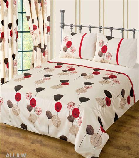 red wine cream colour bedding duvet cover set stylish