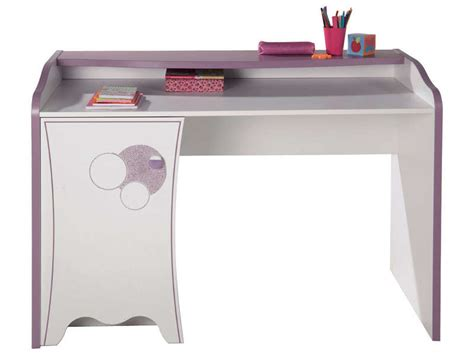 bureau fille conforama bureau 1 porte elisa vente de bureau enfant conforama