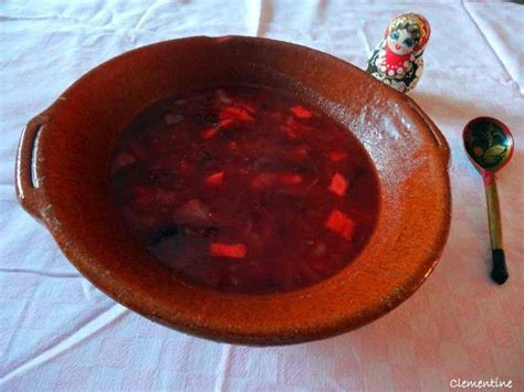 recette de cuisine russe recettes de soupe russe