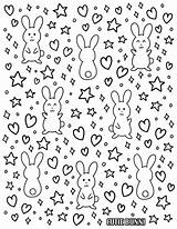Coloring Pages Bunni Entry Cutie sketch template
