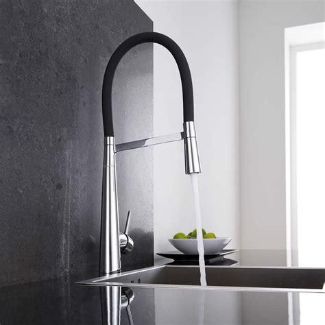 robinet cuisine douchette mitigeur cuisine noir douchette 115 hudson reed