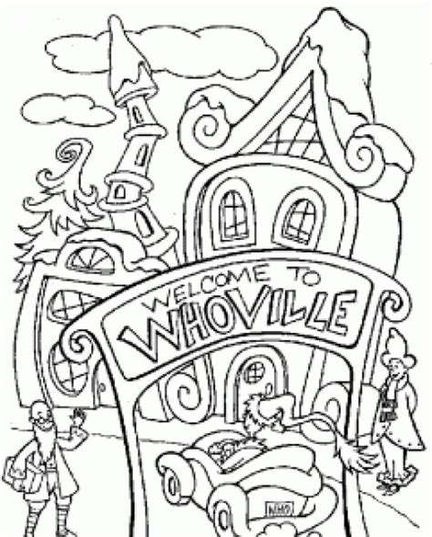 99 Best Images About Coloring Pages Whoville The Grinch Detailed Coloring Pages Murderthestout