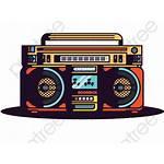 Transparent Radio Hop Boombox Hip Clipart Pinclipart
