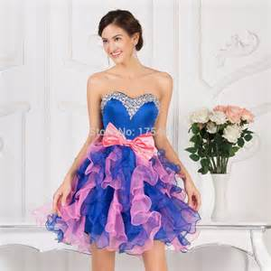 pink and blue prom dress galleryhip com the hippest