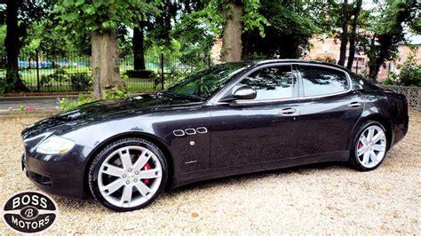black maserati sports car maserati quattroporte 4 7 v8 s zf automatic grey black