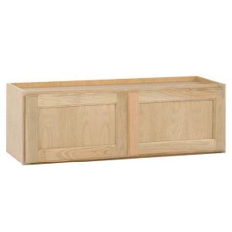 kitchen wall cabinets home depot assembled 30x12x12 in wall bridge kitchen cabinet in 8699