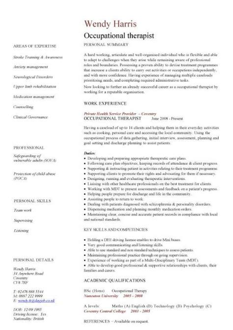 cv for beauty therapist medical cv template doctor nurse cv medical jobs