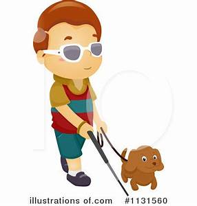 Blind Girl Person Clipart