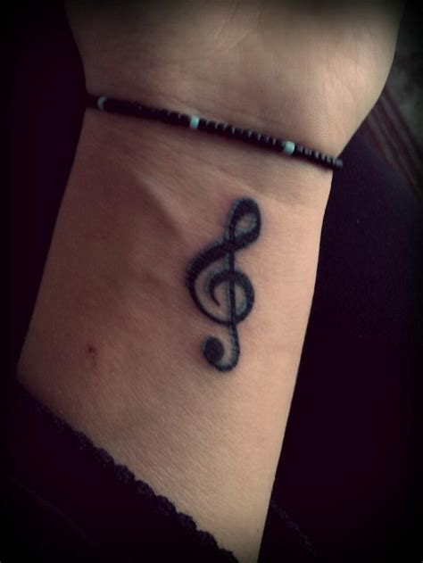 treble clef tattoos designs ideas  meaning tattoos