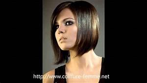 Coupe Carré Visage Rond : coiffure carr plongeant les meilleures mod les de coupe ~ Melissatoandfro.com Idées de Décoration