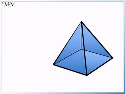 Edges Faces Vertices Shapes 3d Pyramid Rectangular