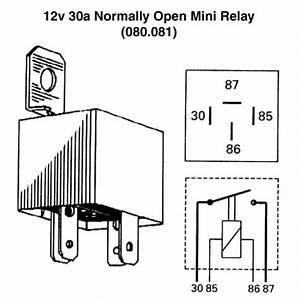 Mini Relay Wiring Diagram