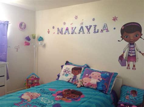 Doc Mcstuffins Bedroom Ideas by Doc Mcstuffins Room Makeover Decor 4 Just