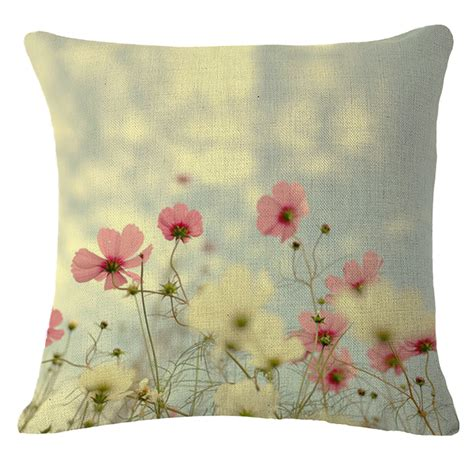 Small Decorative Pillows by Small Flower Pattern Throw Pillow Decorative Cushion