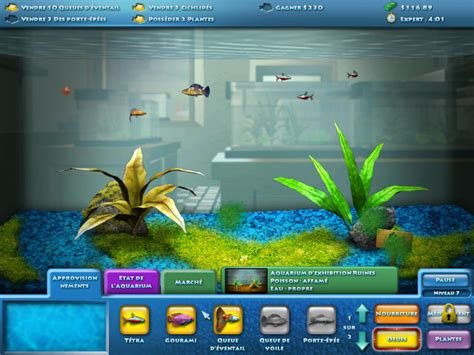 jeu de poisson aquarium fishco jeu gestion mmorpg en ligne