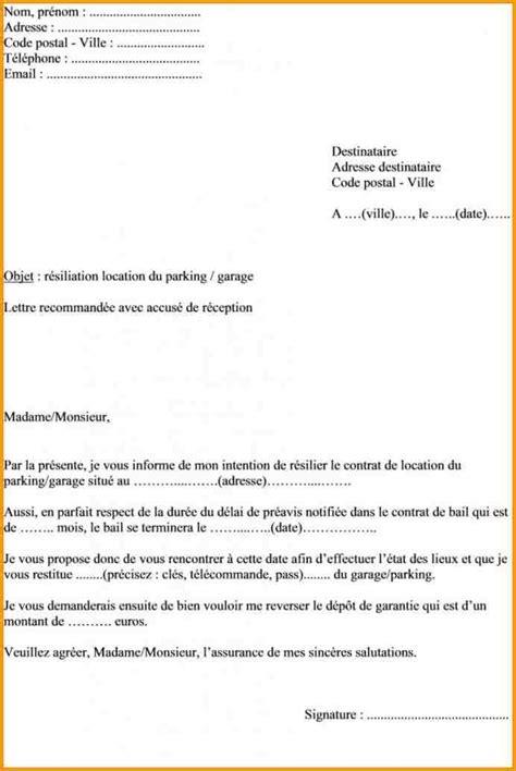 modele lettre préavis 1 mois logement lettre de pr 233 avis de logement 3 mois mod 232 le de lettre