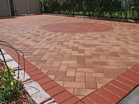 driveway paver patterns common paving patterns and styles