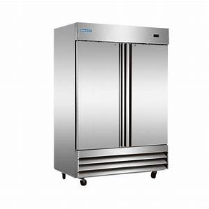 Norpole 48 cu. ft. Commercial Refrigerator in Stainless ...