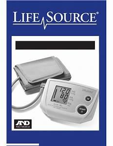 Lifesource Ua-767 Plus Instruction Manual