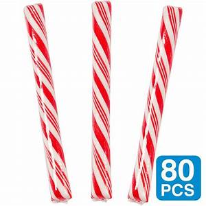 Cherry Red 5 Candy Sticks - Candy & Lollipops and Party ...
