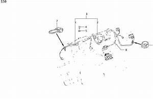 Datsun 620 Clip Wiring Harness  Grommet  Cab  Body  Unit