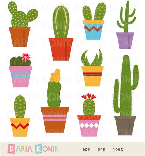 M And M Nursery by Cactus Plant Clip Art 52