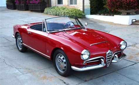 1965 Alfa Romeo Spider by Purchase Used 1965 Alfa Romeo Giulia Spider 1600 Veloce