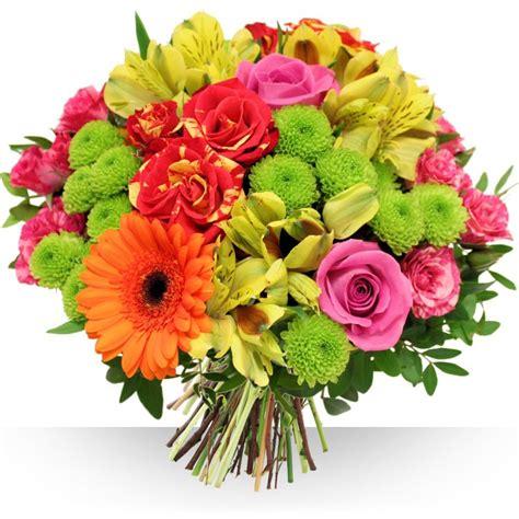 bouquet de fleurs anniversaire photo livraison de fleurs avec le fleuriste bebloom