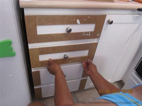 adding trim to kitchen cabinets adding trim beadboard wallpaper in kitchen cabinets