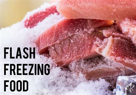 what is flash freezing how to flash freeze food at home kitchensanity