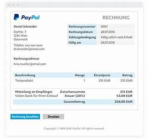 Paypal Rechnung Erstellen : e mail rechnungen l sungen f r paypal gesch ftskunden ~ Orissabook.com Haus und Dekorationen