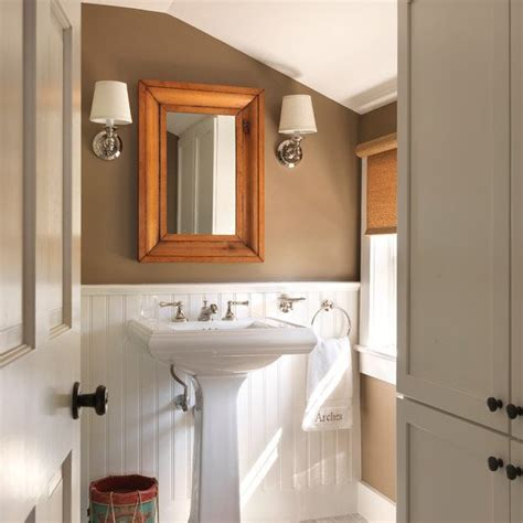 Brown Bathroom  Bathroom Color Schemes  Smart Choices
