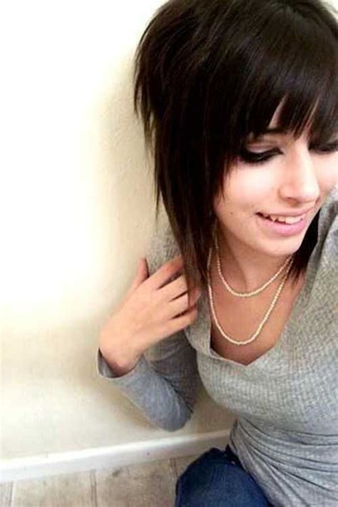 short emo hairstyles for women cute short haircuts for girls the best short hairstyles